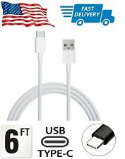 🔥 6ft Long Fast Charging USB Type C Cable Cord Quick Charger for LG G7 G8 Q7+