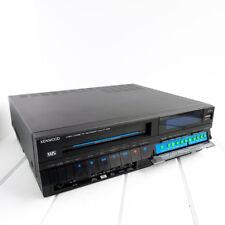 Kenwood KV-905 VCR VHS Player Recorder Video Cassette Tape Stereo Vintage Works