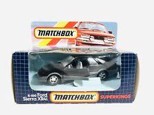 Matchbox Superkings K-100 Ford Sierra XR4i Black 1985 International Limited New