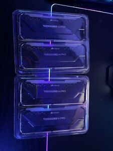 Corsair Vengeance RGB Pro 32GB 3600MHz 4X8GB Desktop Memory - CMW16GX4M2D3600C18