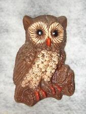 Collectible Barn Yard Owl Statue - Wall Hanging beautiful owl