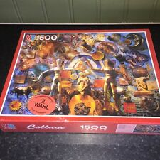 Vintage Rare Astrology Sealed New Jigsaw Puzzle MB Games 1500 Piece - 1993