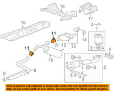 GM OEM Exhaust-Center Muffler Clamp 13278370