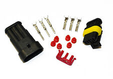 SUPERSEAL AMP TYCO WATERPROOF TERMINAL ELECTRICAL CONNECTOR 3 WAY 1.5-2.5 KIT