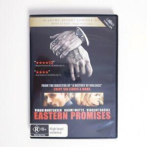 Eastern Promises Movie DVD Region 4 AUS Free Postage - Action Thriller