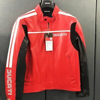 Leather jacket 80s 14 red 9810224_  - dainese offer! Genuine Ducati APPAREL