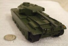 DINKY (RARE) MILITARY MODEL ** CENTURION TANK - WITH TRACKS ** CAT No 651 - USED