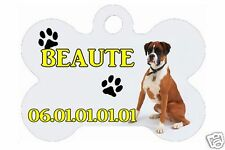 MEDAL FOR DOG CUSTOMIZED with name and no° of phone Ref 53