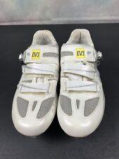 MAVIC Women's White ERGORIDE Energy Composite Lock Pro Cycling Shoes Size 8