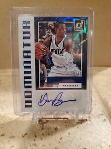 2017-18 Donruss Basketball Harrison Barnes Auto Blue 10/40