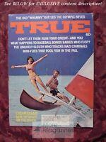 TRUE September 1972 CATAMRANS Boating Motorcycle Calvary SIMON WIESENTHAL