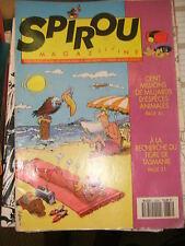 Spirou N° 2834 1992 BD Les femmes en blanc Sammy Jérôme K.J. Bloche 421