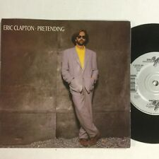 "Eric Clapton Pretending. Before You Accuse Me Like New Duck Label 7"" Record"