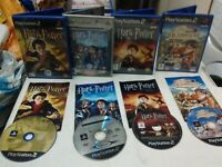 Harry Potter bundle chamber Azkaban goblet quidditch ps2 Tested FAST shipping