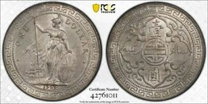 Great Britain trade dollar 1929 Bombay uncirculated PCGS MS63