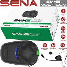 SENA SMH5 MULTICOM Motorrad Headset Bluetooth einfacher Anbau Vier-Wege-Intercom