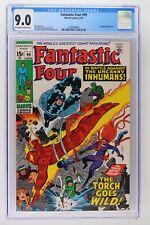 Fantastic Four #99 - Marvel 1970 CGC 9.0 Inhumans Appearance.
