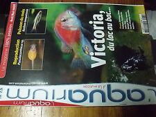 µ? Revue Aquarium à la maison n°73 Algues sur pierre vivante Poisson clown Platy