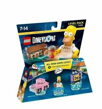 Lego Dimensions The Simpsons niveau Pack NEUF