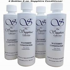 (4) Large Blue Magic 8 oz. Sapphire Waterbed Conditioner-Free Priority Shipping