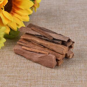 1 Bag Natural Sandalwood Chips Small Logs of Sticks 50g Irregular Resin TC