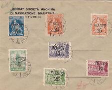 BUSTA INTERA LETTERA 1919 NON VIAGGIATA ADRIA NAVIGAZIONE ALLEGORIE VEDI FOTO