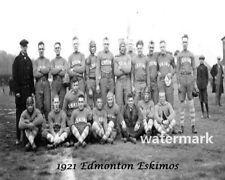 CFL ARFU 1921 Edmonton Eskimos Team Photo Black & White 8 x 10 Photo Picture