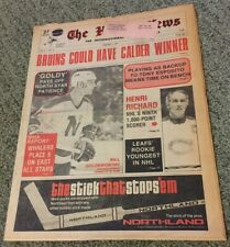 Henri Richard 1000 Points,Bill Goldsworthy,THE HOCKEY NEWS,Jan.4,1974,Vol.27,#14