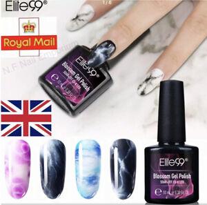 Blossom Gel Elite99 Marble Blooming Nail Art UV LED Magic Effect Varnish Polish