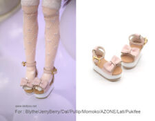Momoko// Lati/_y//Pukifee DAL Pullip Doll shoes/_Minnie for Blythe
