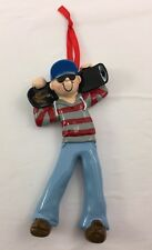 Skateboarder Personalize it Yourself Christmas Tree Ornament
