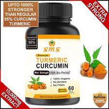 TURMERIC 95% CURCUMIN 10,000mg EXTRACT TUMERIC BLACK PEPPER ANTIOXIDANT BEST
