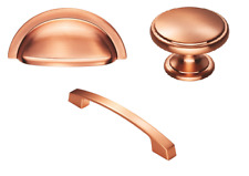 Brushed Copper (Rose Gold) Pull Bow Handle, Knob & Cup Handle.Kitchen/Furniture