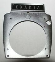 EXAKTA Camera Faceplate Ihagee Dresden SLR Front Piece Plate