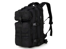 8l/10l/30l/55l/80l Outdoor Military Tactical Camping Hiking Trekking Backpack 30 Liters 30l Black