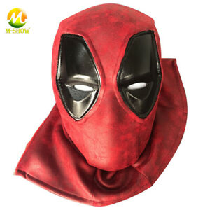 Deadpool Cosplay Mask EVA Deadpool Helmet Headgear for Adult Carnival Props
