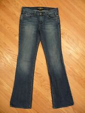 Womens Lucky Brand Leslie Sweet N Low Boot Cut Stretch Denim Jeans 6 / 28 Great!