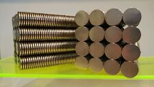 20 Neodymium Cylinder Disk Magnets. Super strong N52 Rare earth magnets