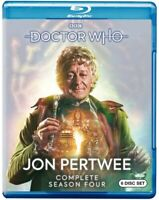 Doctor Who: Jon Pertwee: Complete Season Four [New Blu-ray] Boxed Set