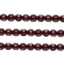Wood Rounded Triangle Beads Chocolate 10x10x10mm 16 Inch Strand