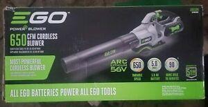 NEW EGO Power LB6504  Blower  650CFM KIT W/ BAT & CHARGER   QIK SHIP