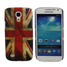 Custodia COVER GEL per SAMSUNG Galaxy S4 Mini e Duos UK Vintage inglese Retrò