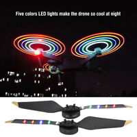5LED Propeller Blades Props USB Charging Night Fly Accessories For DJI Mavic Pro