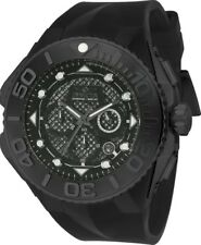 Invicta 23963 Coalition Forces Men's 53.5mm Black Stainless Steel Black Dial