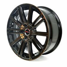 4 GWG Wheels 18 inch Metallic Bronze FLOW Rims fits 5x112 MERCEDES S430 2000-06