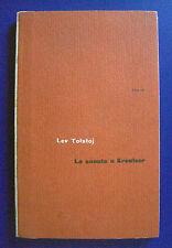 Lev Tolstòj - La sonata a Kreutzer - Einaudi 1953
