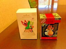 Hallmark Ornament Lot Starlight Angel Lighted & Goodies for Santa Hoops & Yoyo