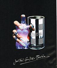 PUBLICITE ADVERTISING 064  1994  JEAN PAUL GAULTIER  parfum