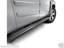 Genuine OEM Honda Ridgeline Black Rectangular Side Steps 2006-2014 Step Set