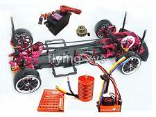 Alloy & Carbon 1 10 SAKURA D3 Drift Racing Frame Kit & SKYRC LEOPARD 60A Combo